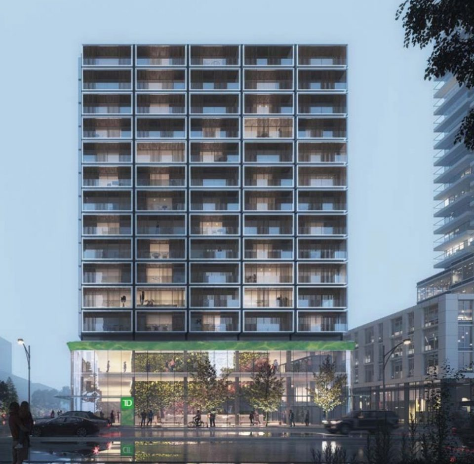 Refined rentals planned for Cambie & West 41st