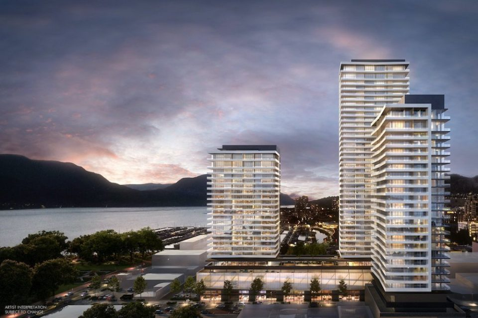 Water Street by the Park in Kelowna includes 42-storey tower