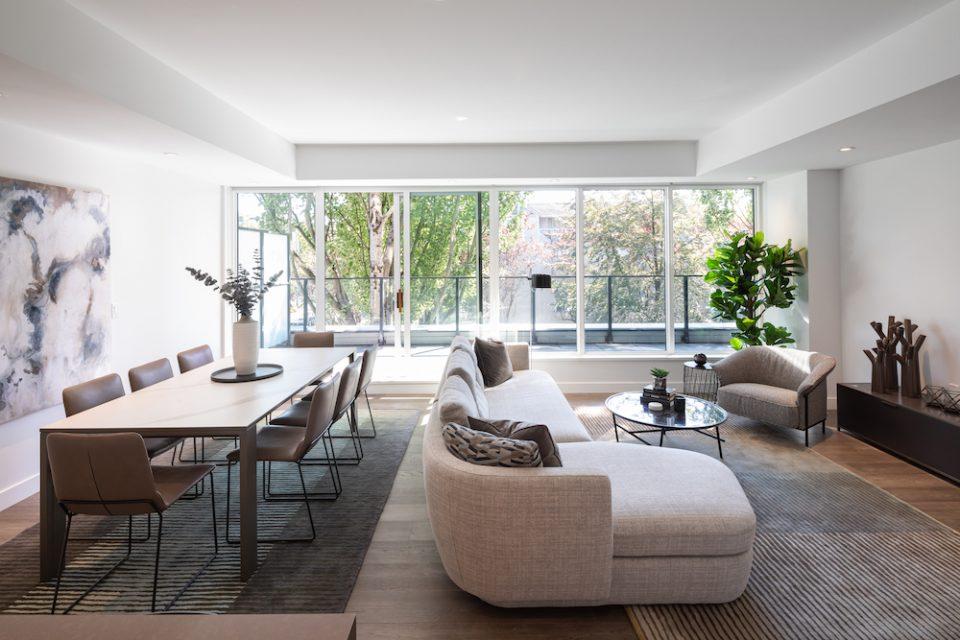 Interior design at Heather & Seventeenth