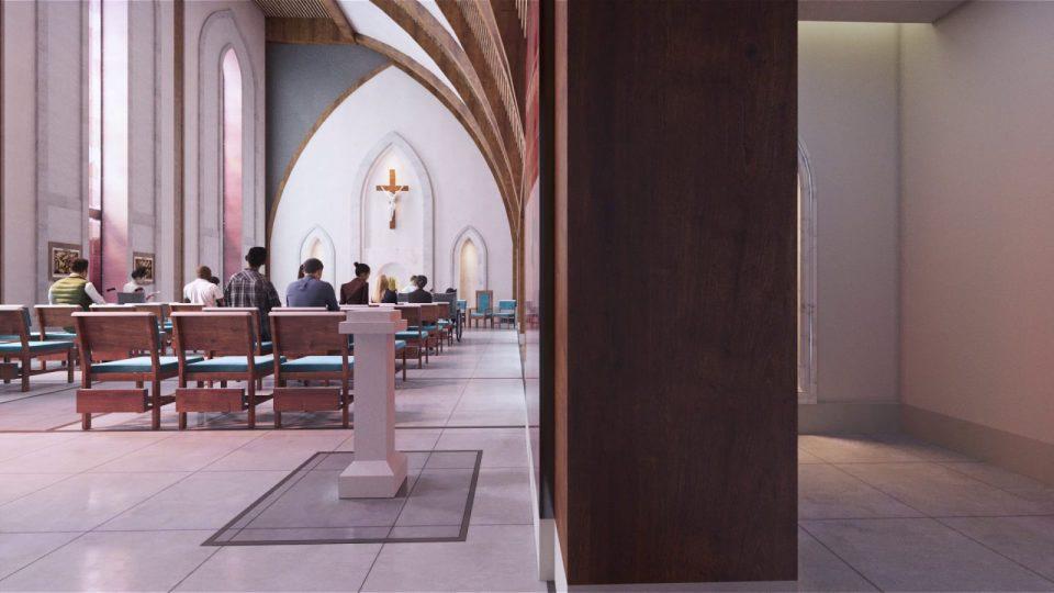 Rendering of Chapel