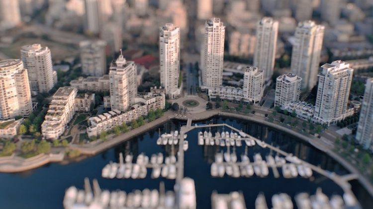 Screenshot of a 'miniature' Yaletown