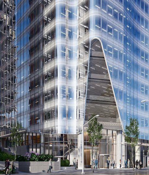 1166 West Pender office tower