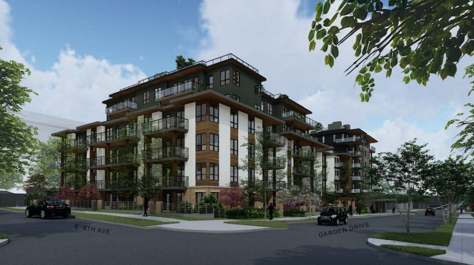 Garden Drive Apartments rendering