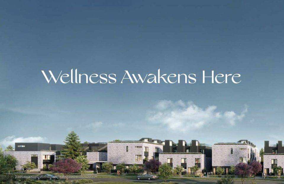 Wellness at centre of upcoming townhouse development