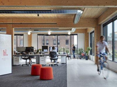 T3 North Loop - office space interior