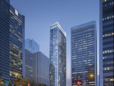Reliance Properties Thurlow and Melville rental tower