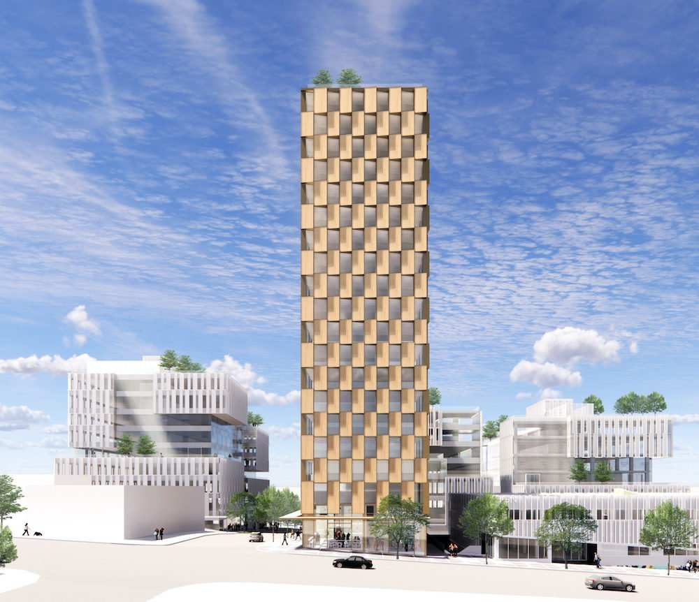 21-storey Vancouver mass timber rental tower announced  image