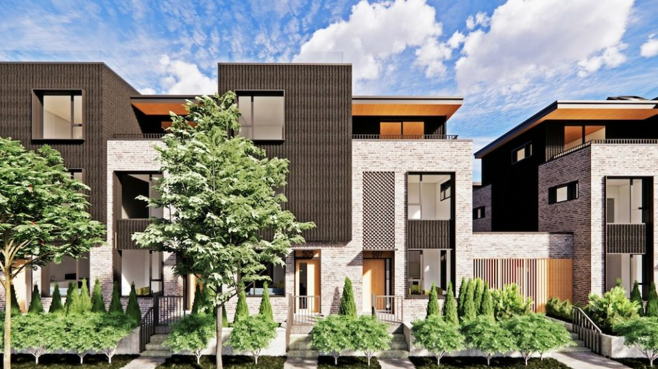 West 49th Avenue townhouses by Bosa Properties