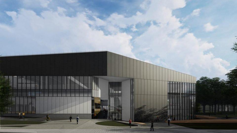 North entrance rendering