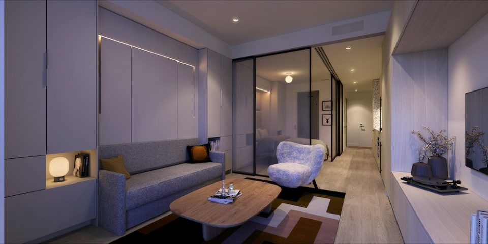 The Saint George interior rendering