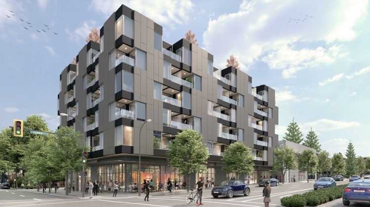 Cambie and 16th Wesgroup rendering