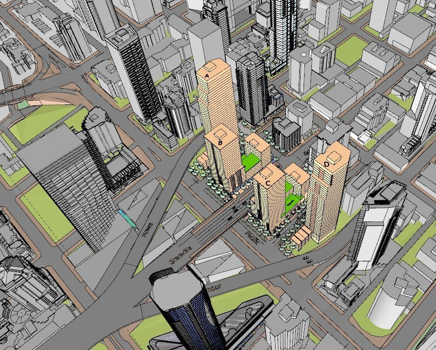 Granville Loops removal plan calls for four towers