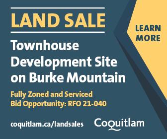 Coquitlam land sale
