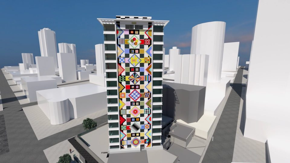 Douglas Coupland mural to grace downtown tower