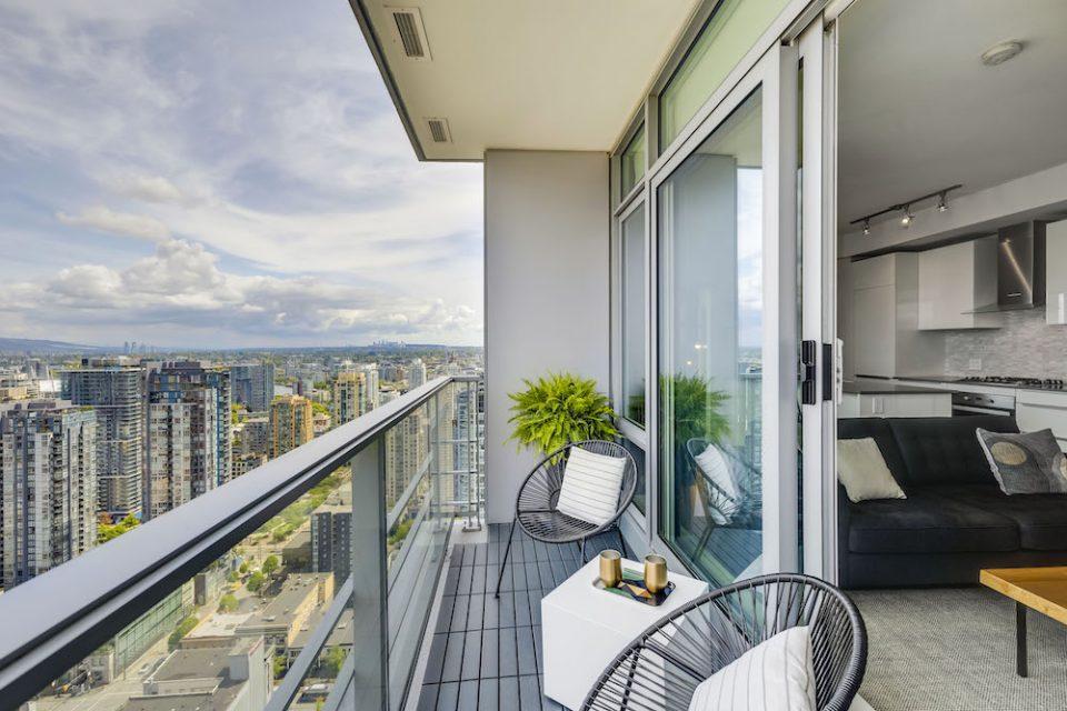 Balcony space
