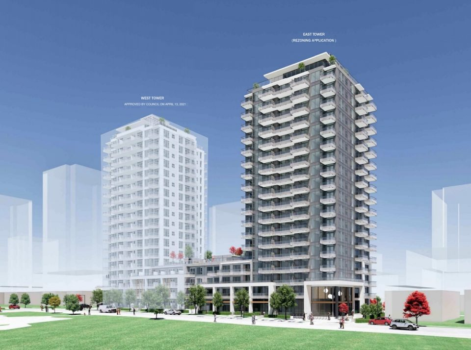 277-291 W 42nd Ave rental apartment tower