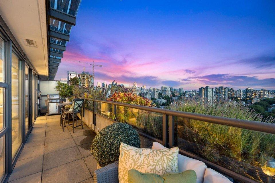 Alberni Street sub penthouse for sale