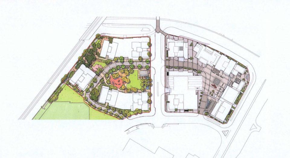 Preliminary site plan