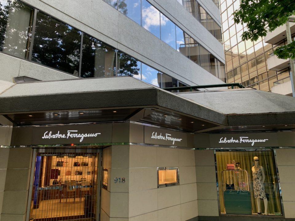 Salvatore Ferragamo Vancouver location