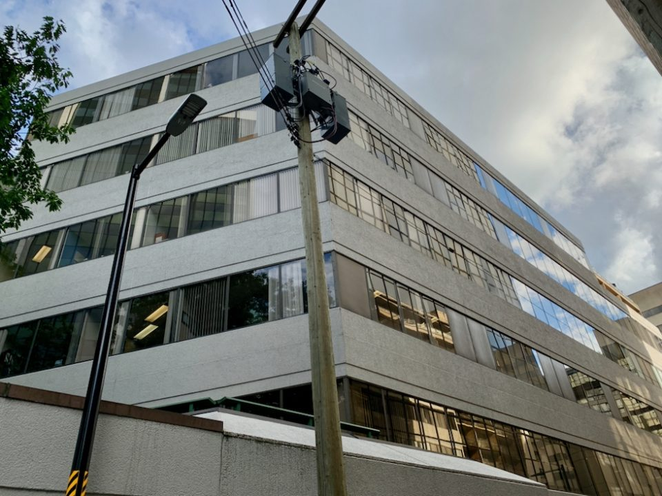 815 Hornby office building