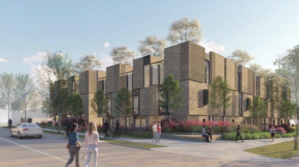 Bloom Belford Properties townhouses rendering