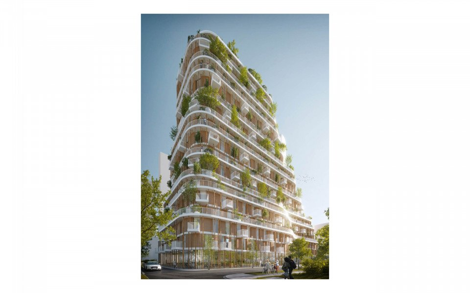 Vancouver Forest tower by Urban Agency Architects