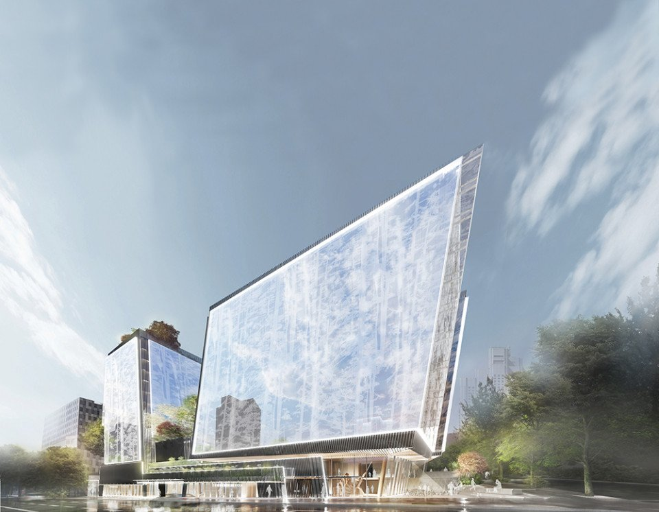 New hotel 888 West Broadway - street view