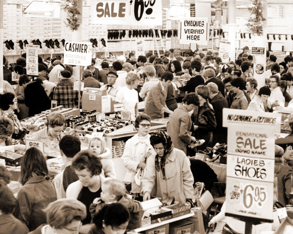 Army & Navy's Legendary Shoe Sale, year unknown