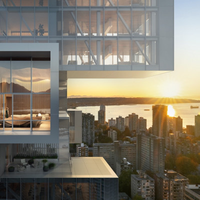 Cantilevered living space