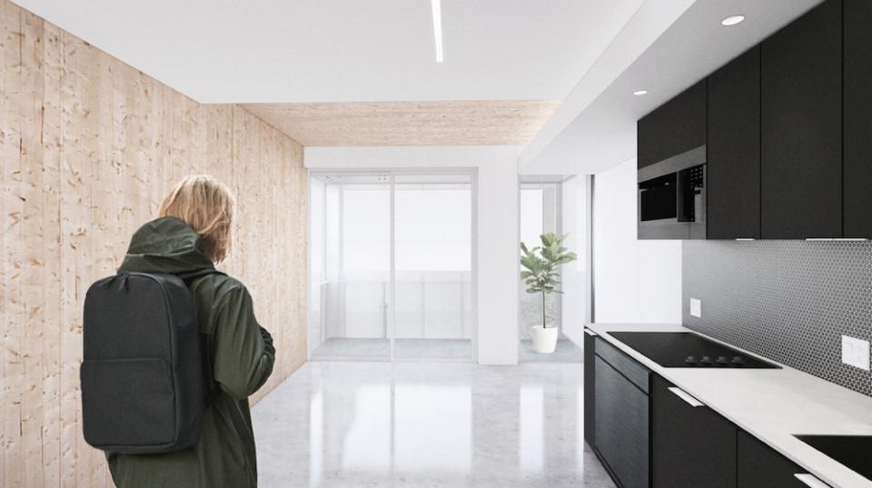 Typical suite interior