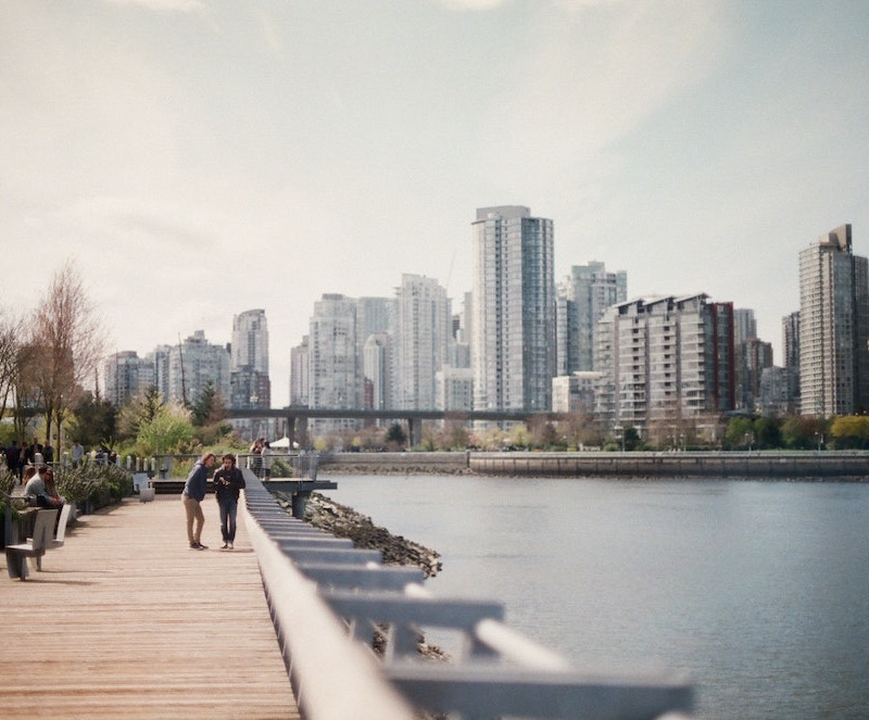 Vancouver skyline as seen from Olympic Village. Credit: Kyle Ryan/Unsplash
