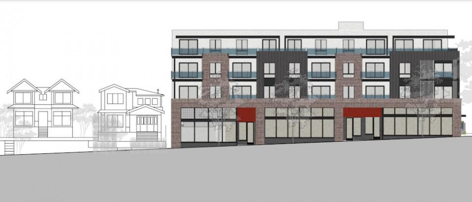 2419 Grant St building rendering