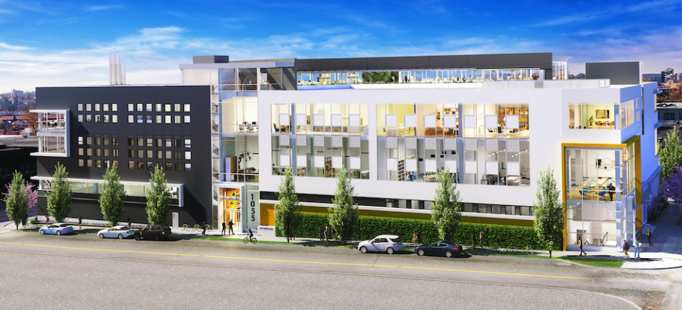 Precision NanoSystems Vancouver facility rendering
