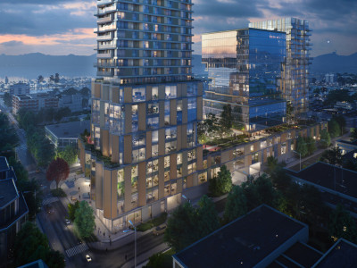 UBC Okanagan downtown campus rendering