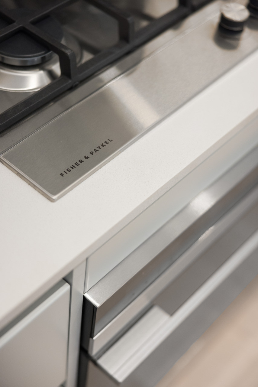 The home features Fisher & Paykel appliances