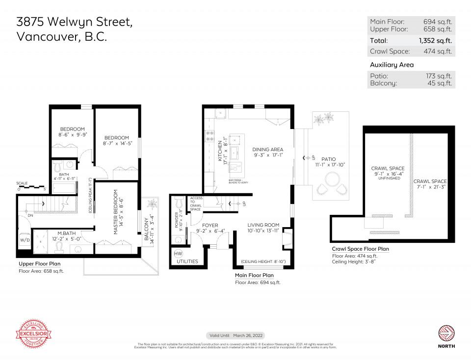 Floor plan of 3875 Welwyn Street