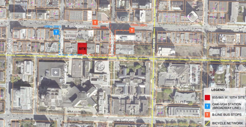 West 10th Avenue - development site