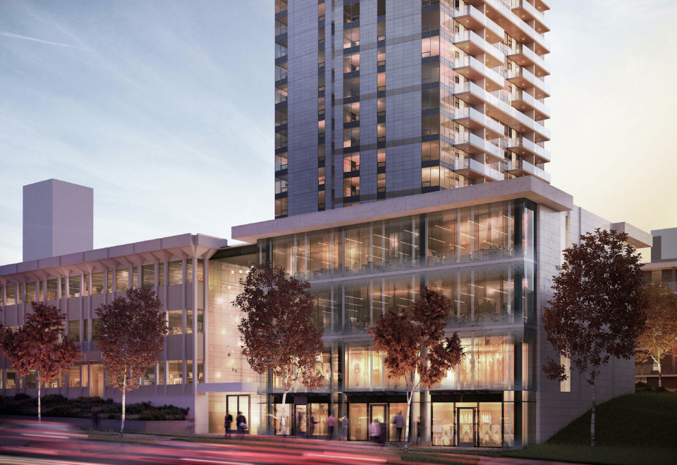 Comma Properties project on King George Blvd. in Surrey