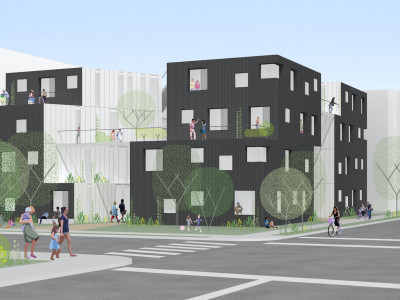 Comma Properties project in Los Angeles