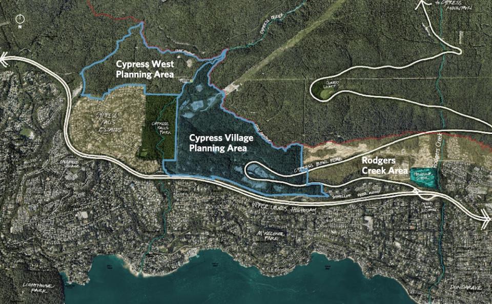 Cypress Village context