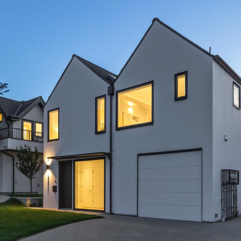 Scandinavian-inspired home