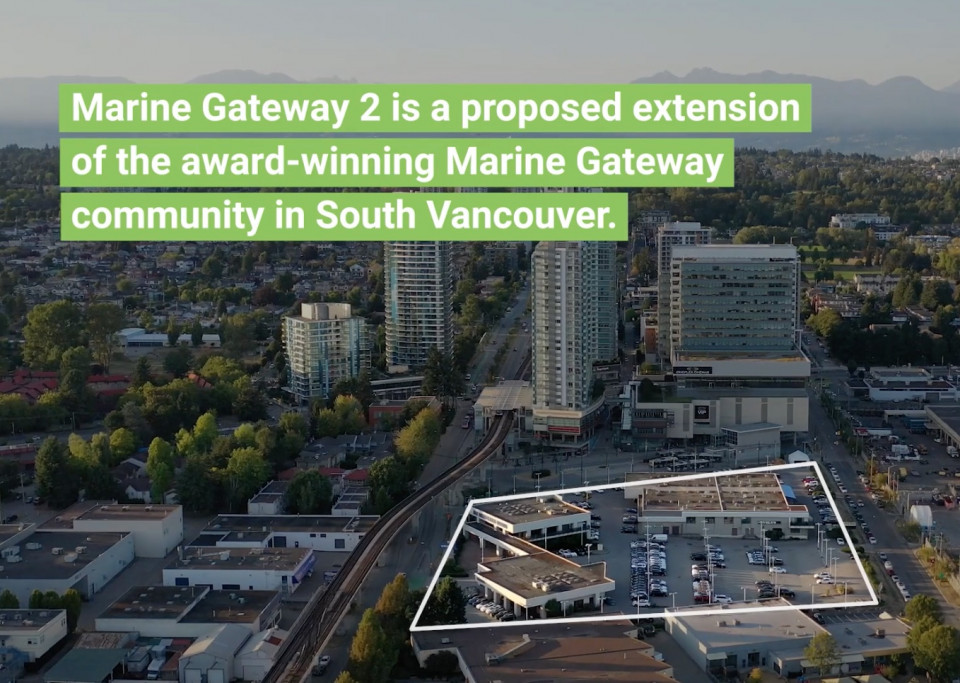 Marine Gateway 2 project site