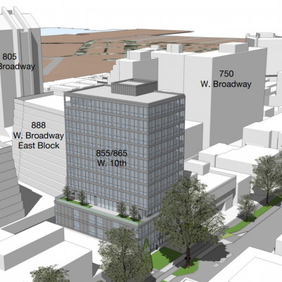 VGH office tower - West 10th Avenue - amenity space