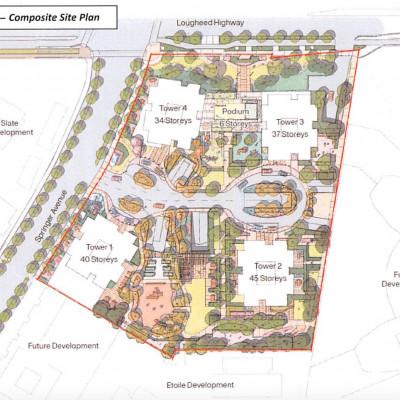 Bossano site plan