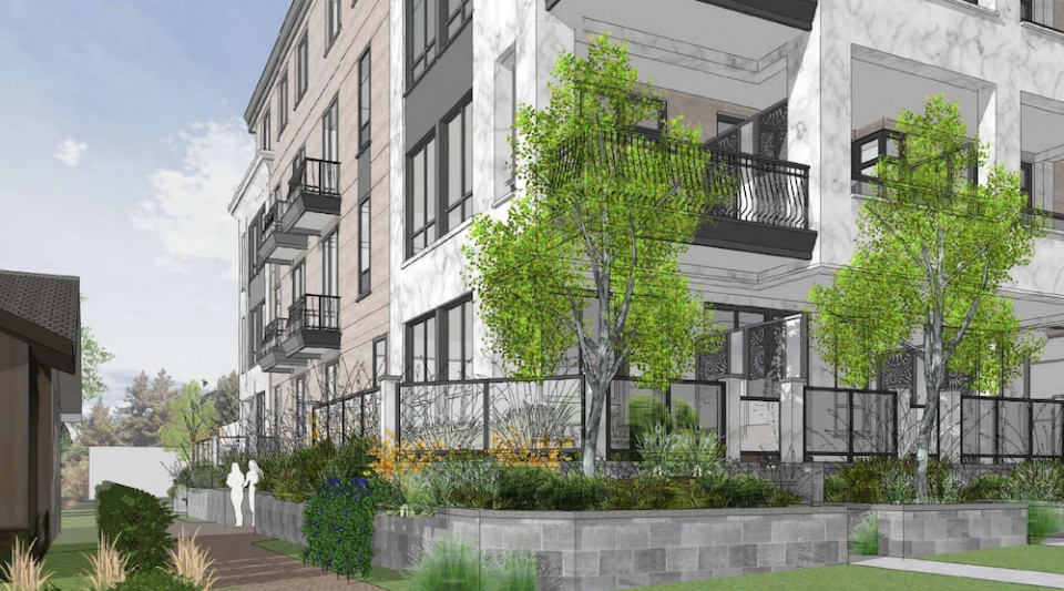 Rendering of Tisdall Living