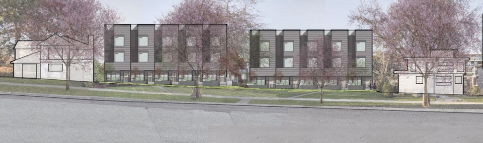 West 26th Avenue Streetscape - Proposed